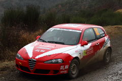 Rallye蒙特卡洛2014年 库存图片
