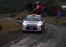 Rallye Μόντε Κάρλο 2014 στοκ φωτογραφία με δικαίωμα ελεύθερης χρήσης