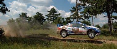 Rallye Royalty-vrije Stock Foto's