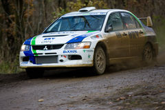 Rallye car Royalty Free Stock Images
