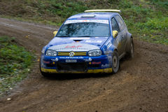 Rallye car Stock Photo