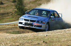 Rallye championship Stock Photography