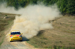 Rallye Competition Stock Photo