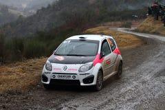 Rallye monte carlo  2014 Stock Photography
