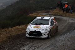 Rallye Monte Carlo 2014 Lizenzfreie Stockfotos