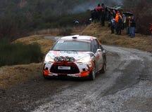 Rallye Monte Carlo 2014 Lizenzfreies Stockbild