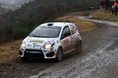 Rallye Monte Carlo 2014 stockfotos