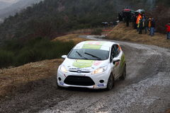 Rallye Monte Carlo 2014 lizenzfreies stockfoto