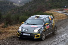 Rallye Monte Carlo 2014 Stockfoto