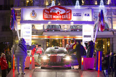 Rallye Monte Carlo Launch at Place du Casino Stock Images
