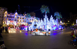 Rallye Monte Carlo Launch at Place du Casino Royalty Free Stock Images