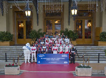 Rallye Monte Carlo Launch at Place du Casino Stock Image