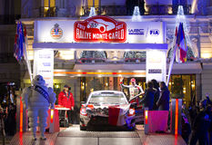 Rallye Monte Carlo Launch at Place du Casino Royalty Free Stock Photography