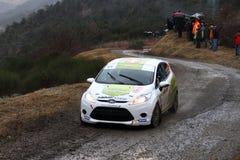 Rallye monte carlo  2014 Royalty Free Stock Photo