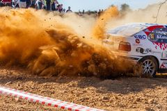 Rallying in Spain in Summer royalty free stock images