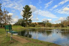 Ralph b Clark regionalności park, orange county obrazy stock