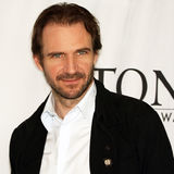Ralph Fiennes. British actor Ralph Fiennes ' intensity is on display at the Meet the Nominees press reception at the Marriott Marquis in mid-town Manhattan on stock photos