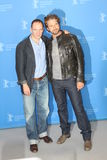 Ralph Fiennes and Gerard Butler Royalty Free Stock Photography