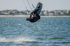 Ralph Hirner Kitesurfing Stock Photography