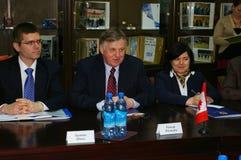 Ralph J. Lysyshyn à Sotchi, Russie Photographie stock libre de droits