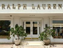 Ralph Lauren brand store in Aruba.  Royalty Free Stock Photo