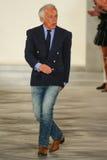 Ralph Lauren camina la pista en Ralph Lauren Spring 2016 durante semana de la moda de Nueva York Fotos de archivo libres de regalías