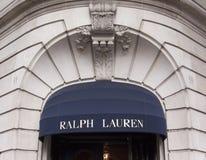 Ralph Lauren lager i Paris Arkivbild
