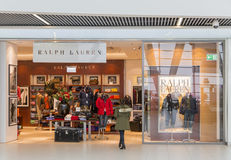 Ralph Lauren shop Royalty Free Stock Image
