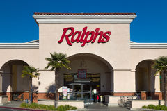 Ralphs Grocery Store Sign Royalty Free Stock Photography