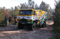 Raly Lisboa - Dakar 2007 Royalty Free Stock Photo