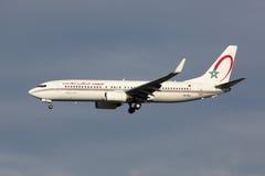 RAM摩洛哥皇家航空公司波音737-800飞机 库存图片