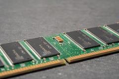 Ram памяти на серой предпосылке стоковые фото