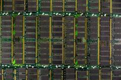 RAM ГДР, модули микросхем памяти компьютера Стоковая Фотография RF