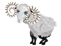 Ram шаржа Стоковое Изображение
