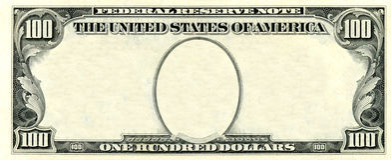 ram 100 dolarów Obrazy Stock