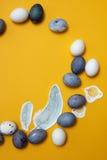 Ram av ägg Royaltyfri Bild