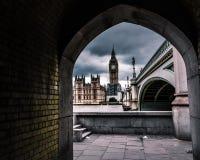 Ram av Big Ben - London royaltyfri bild