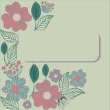 Ram av blomman vektor illustrationer