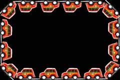 Ram av brandmanleksakbilen Royaltyfria Bilder