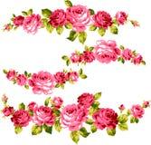 Ram av rosen royaltyfri illustrationer