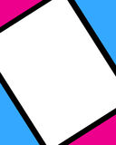 ram błękitny cyfrowe menchie Fotografia Stock