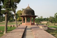 Ram Bagh, Agra Fotografia Stock Libera da Diritti