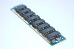 RAM Board. A SIMM Ram Board stock image