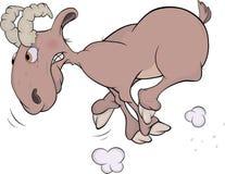 Ram. Cartoon Stock Image