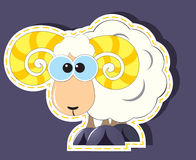 Ram Cartoon Royalty Free Stock Photo
