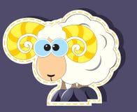 Ram cartoon Royalty Free Stock Photo