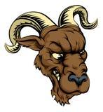 Ram character illustration Royalty Free Stock Photo