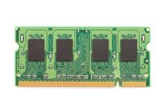 RAM Computer Memory Chip Module Fotografía de archivo libre de regalías