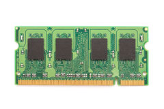 RAM Computer Memory Chip Module Royalty Free Stock Photography