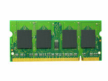 RAM Computer Memory Chip Module Stock Photo